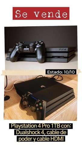 PlayStation 4 Pro 1TB con control