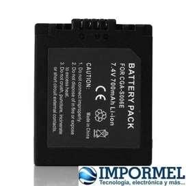 Bateria Camara Panasonic Lumix Cgr-s006a/1b Dmw-bma7 Dmc-fz5