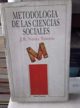 Metodología de las ciencias sociales Núñez Tenorio alfadil Trópico