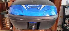 Maletero  0DIN grando 48 litros para 2 cascos