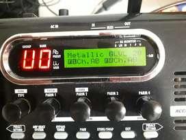 Pedalera multiefectos Zoom g9.2tt