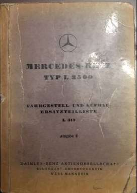 Manual Mercedes Benz Camion /chasis L3500