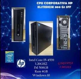 Torre HP Core i5 4ta Gen