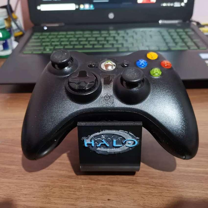 Soporte de mesa para controles de xbox 360 versión halo