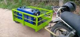 remolques y trailers para motos y bicicletas de carga