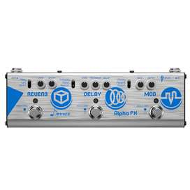 Donner Alpha Fx Delay Reverb Modulaciones Triple Tru By Pass
