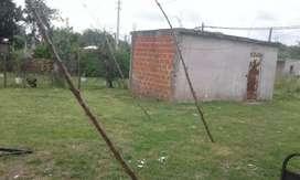 Terreno con habitacion para seguir edificando
