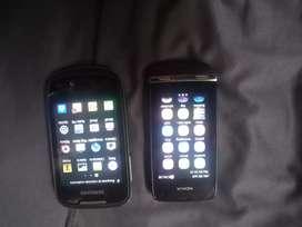 Vendo estos 2 celulares