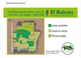 LOTEO EL BALCON RACO