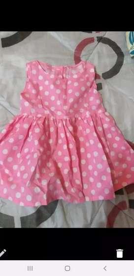 Vestidito para niña de 2 años talle 4
