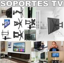 Todo en soportes tv servicio instalacion  venta en todo medellin  sus alrededores tendederos ropa mallas seguridad bases