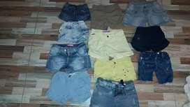 ropa para niños y  niñas excelente estado