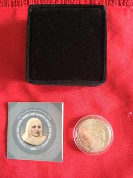 Moneda Conmemorativa a la Hermana Santa Laura