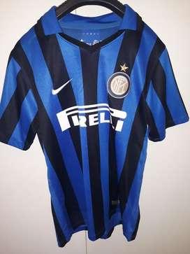 Camiseta Inter Titular 2018 con Número