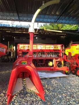 cosechadora de forraje 1 surcos marca brasil