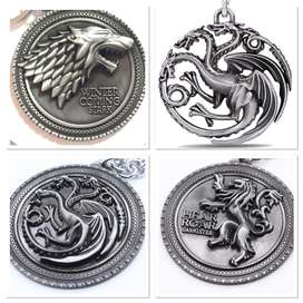 llavero Juego Tronos Targaryen Stark Lannister Game Of Thrones