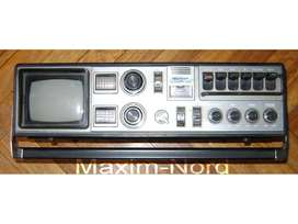 Antiguo Tv Radio Cassette Sharp Trimate 3t59 Boombox / Maxim Nord
