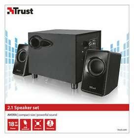 SUBWOOFER TRUST AVORA 2,1 USB 18W / 20442