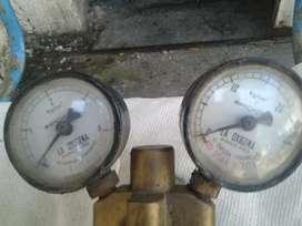 Regulador de presión de acetileno