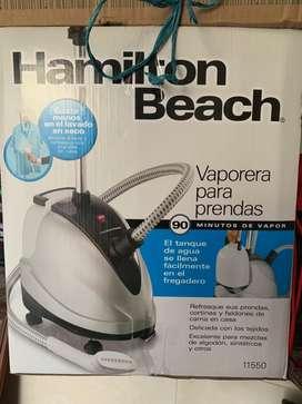 Plancha a vapor para prendas marca hamilton  beach
