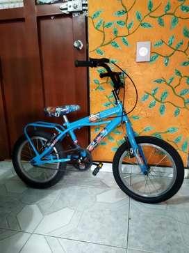 Vendo bicicleta para niño en buen estado en 70.000
