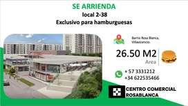 ARRIENDO LOCAL VILLAVICENCIO  - CENTRO COMERCIAL ROSABLANCA