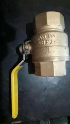 Valvula esferica de 38mm 1 1/2 Gas Aprovada