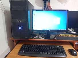Computador completo de 4 núcleos y tarjeta de video