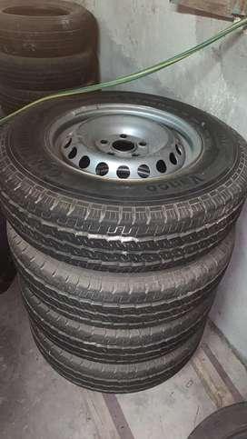 4 ruedas armadas para amarok
