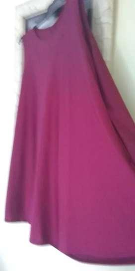 Vendo vestido de seda