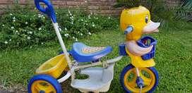 Triciclo cara de pato