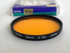 Filtro Orange Naranja 58mm Ø - Hoya - Hecho En Japon