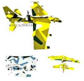 Avión Armable De Fomi Eléctrico Recargable 12Pulgadas