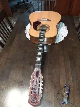 guitarra/ guitarron Gianini 12 cuerdas para entendidos