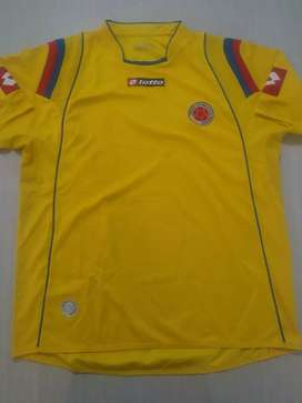 Camiseta Lotto Selección Colombia