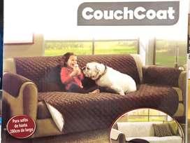 Cubre Sofa Doble Faz Tres Puestos
