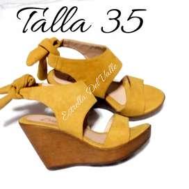 ¡OFERTA! Sandalias TALLA 35 // Calzado para dama