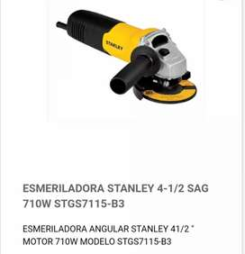 Amoladora Stanley de 41/2 nuevas de paquete con garantía de 1 año x defecto de fabricación