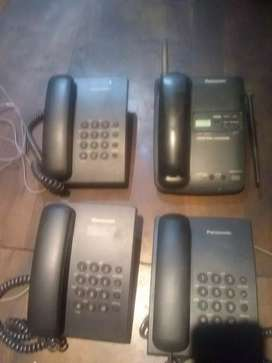 Vendo 5 teléfono Panasonic