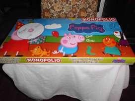 JUEGO MONOPOLIO PEPPA PIG