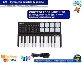 TECLADO MIDI CONTROLAR