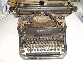Maquina De Escribir Remington funcionando