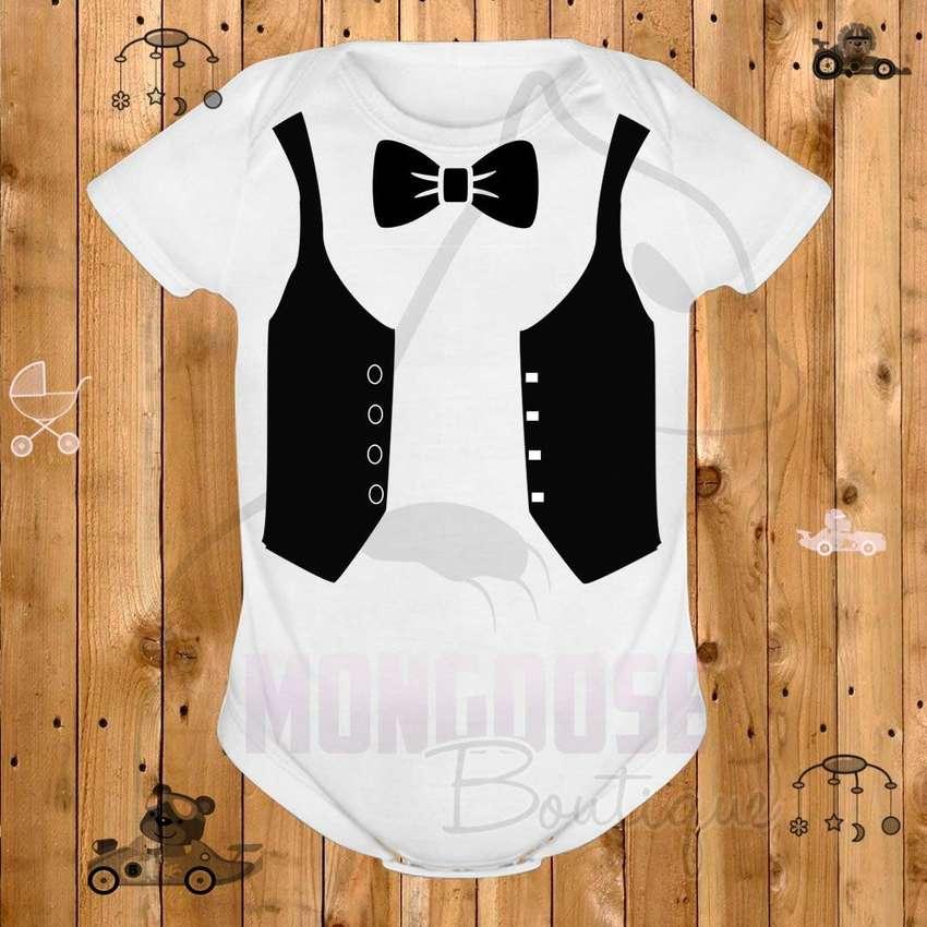 Body/ Mameluco / Bodies Chaleco Corbatín Para Tu Bebé
