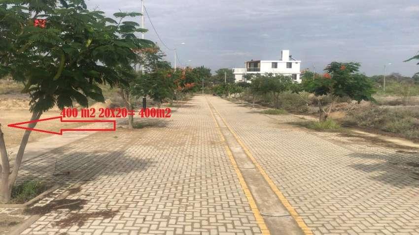 vendo 2 terrenos pegados de 200 m2 cada uno o o puedo vender uno ubicado en URB MIRAFLORES BOULEVARD PARK PLAZA PIURAA 0