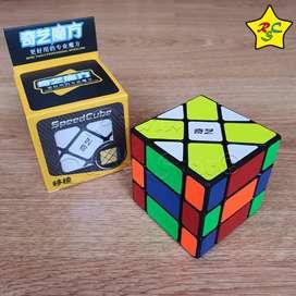 Cubo Rubik Fisher 3x3 Mod Qiyi Original Magico 3x3 Negro