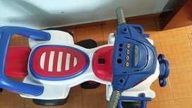 Cuatrimoto electrica para niños