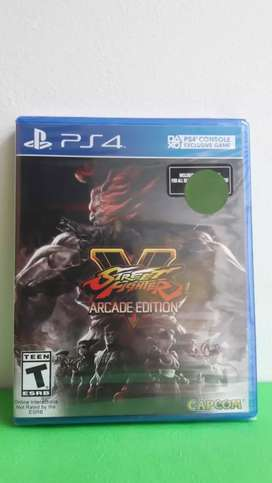 STREET FIGHTER V:ARCADE EDITION