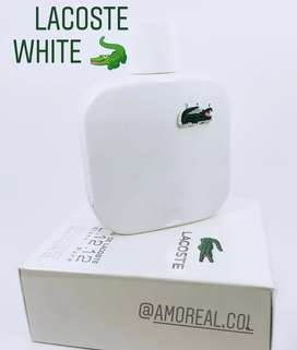 Perfume lacoste White Blanca para hombre