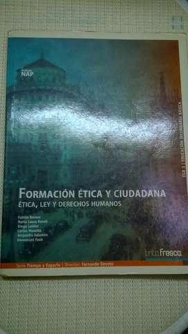 Formacion Etica Y Ciudadana Tinta Fresca