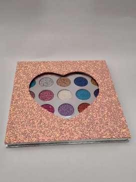Paleta de sombras Glitter